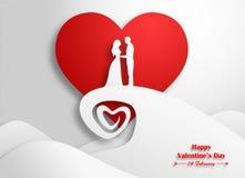 valentindag som gifta sig Royaltyfri Fotografi