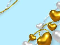 Valentindag som gifta sig dekorativt förälskelsebegrepp stock illustrationer