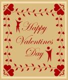 Valentindagbakgrund Royaltyfri Foto
