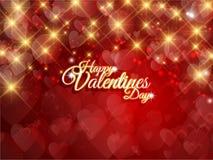Valentindagbakgrund Royaltyfria Foton