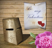Valentindagbakgrund Arkivfoto
