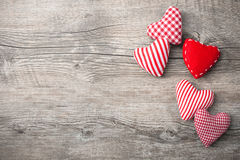 Valentindagbakgrund Royaltyfri Fotografi