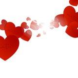 Valentindagbakgrund Arkivbilder