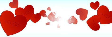 Valentindagbakgrund 03 Royaltyfria Foton
