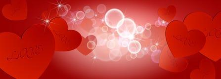Valentindagbakgrund 05 Fotografering för Bildbyråer