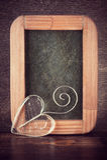Valentindagbakgrund med hjärta Royaltyfri Fotografi