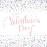 Valentindagbokstäver Royaltyfri Bild
