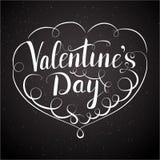 Valentindagbokstäver Arkivbild