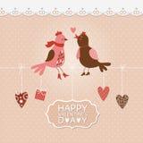 Valentindagkort Royaltyfria Bilder