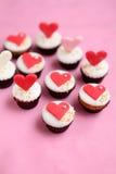 Valentindagmuffin Arkivbilder