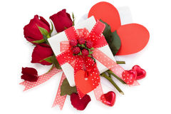 Valentine's天礼物 免版税库存图片