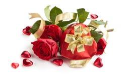 Valentine's daggåva Arkivbilder