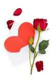 Valentine's daggåva Arkivfoto