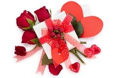 Valentine's daggåva Royaltyfria Bilder
