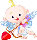 Valentine's Day Cupid royalty free illustration