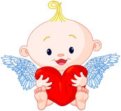 Valentine�s Day Cupid Royalty Free Stock Photo