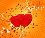 Valentine's Day, vector Royalty Free Stock Photos