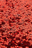 Valentine's sea of hearts royalty free stock photo