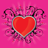 Valentine´s Card Royalty Free Stock Image