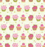 Valentine´s Day seamless pattern Stock Photos