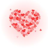 Valentine�s Day heart Royalty Free Stock Photos