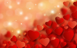 Valentine�s Day Background  Stock Photo