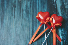 Valentine& x27 καρδιές του s Στοκ εικόνες με δικαίωμα ελεύθερης χρήσης