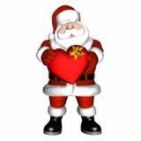 Valentine 2 de Santa illustration libre de droits