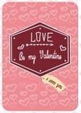 Valentine3 Arkivfoto