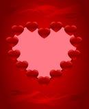 Valentine illustration stock