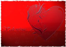Valentine. Background for valentine\'s card Royalty Free Stock Photo