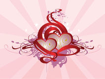 Valentine. Abstract background for St. Valentine's day Royalty Free Stock Photo