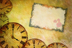 Valentine abstract background. Abstract vintage flower background illustration stock illustration