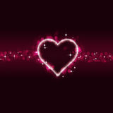 Valentine Abstract Background Royalty Free Stock Photos