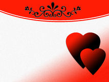 Valentine abstract background Royalty Free Stock Photo