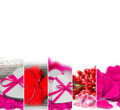 Valentine Abstract Mix Imagem de Stock Royalty Free