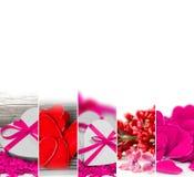 Valentine Abstract Mix Royaltyfri Bild