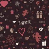 Valentine-achtergrond Royalty-vrije Stock Foto's