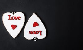 valentine Amor Cartão do dia do `s do Valentim Ame o conceito para o dia do ` s da mãe e o dia do ` s do Valentim Corações felize Imagem de Stock