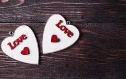 valentine Amor Cartão do dia do `s do Valentim Ame o conceito para o dia do ` s da mãe e o dia do ` s do Valentim Corações felize Fotografia de Stock Royalty Free