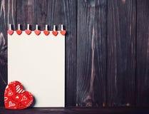valentine Amour Carte postale de jour du `s de Valentine Aimez le concept pour le jour du ` s de mère et le jour du ` s de valent Photo libre de droits