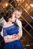 Valentine, amour et relations Tendresse Jeunes couples, amie et ami Images libres de droits