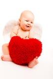 Valentine angel Royalty Free Stock Photos