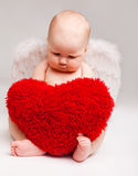Valentine angel royalty free stock photo