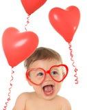 Valentine baby Stock Photos