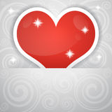 Valentine backdrop Stock Image