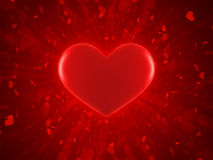 Valentine background. Valentine day card background with hearts Royalty Free Stock Photography