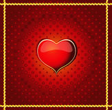 Valentine background. Abstract Valentine background on red - vector available Stock Photos