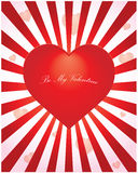 Valentine background. Special valentine background with heart Stock Images