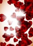 Valentine background Stock Images